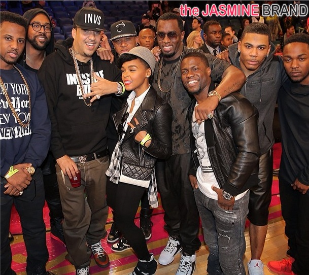 Celebs Invade All Star Weekend: Kevin Hart, Janelle Monae, Diddy & More