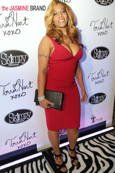 full-atlanta exes-sheree buchanan-torrei hart skimpy mixer launch-the jasmine brand