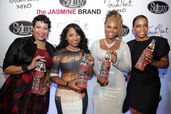 group shot-toya wright-torrei hart skimpy mixer-atlanta exes 2014-the jasmine brand