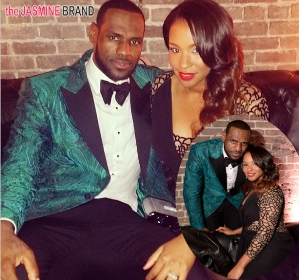 is lebron james wife pregnant-the jasmine brand