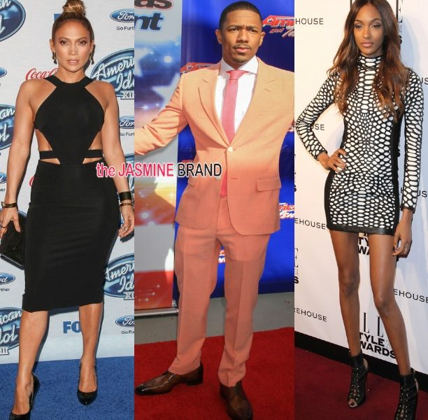Celebrity Stalking: Jourdan Dunn & Pharrell At ELLE Style, J.Lo At American Idol's Finalist Celebration + Nick Cannon At America's Got Talent Season Premiere