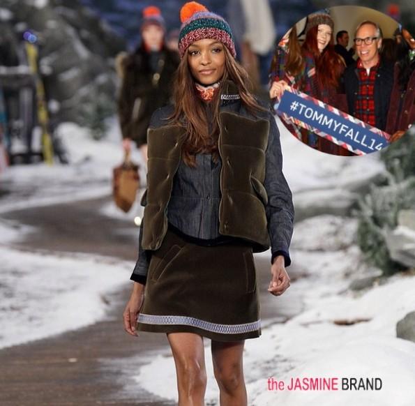 jourdan dunn-tommy hilfiger-new york fashion week 2014-the jasmine brand