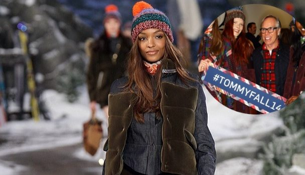 [Photos] Tommy Hilfiger Presents At New York Fashion Week: Jourdan Dunn Rips Runway