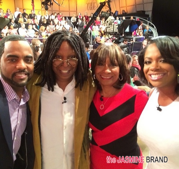 [Tears & Accusations] Mama Joyce, Kandi Burruss & Fiancé Todd Have Therapy Session 'The View'