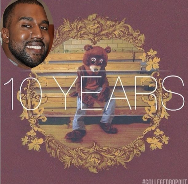 Kanye West Celebrates 10 Year 'College Dropout' Anniversary On Twitter: I'm still the same kid from Chicago.
