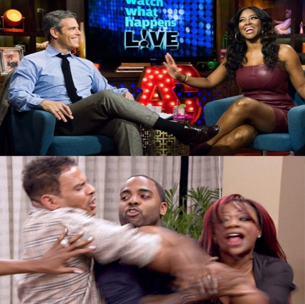 kenya moore-calls nene leakes jealous-kandi burruss says sorry for ratchet tv moment-the jasmine brand