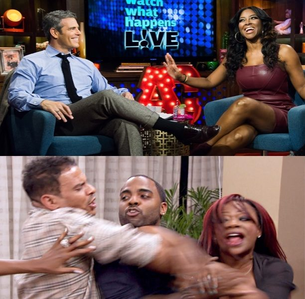[VIDEO] RHOAs Kenya Moore Says Christopher Williams Assaulted Her, Kandi Apologizes For 'Ratchet' Moment + Watch Episode