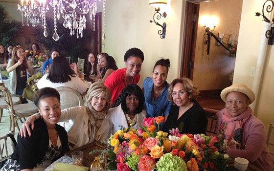 [Photos] Cicely Tyson, Jane Fonda, Tracee Ellis Ross Show Up For Kerry Washington's Baby Shower