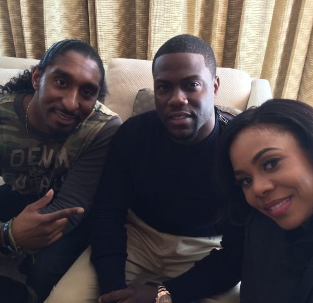 Hilarious: About Last Night's Kevin Hart & Regina Hall Show Off Their Impromptu Comedy Skills