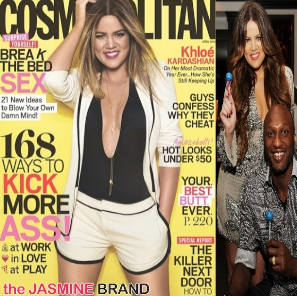 khloe kardashian-cosmo magazine-lamar odom-the jasmine brand