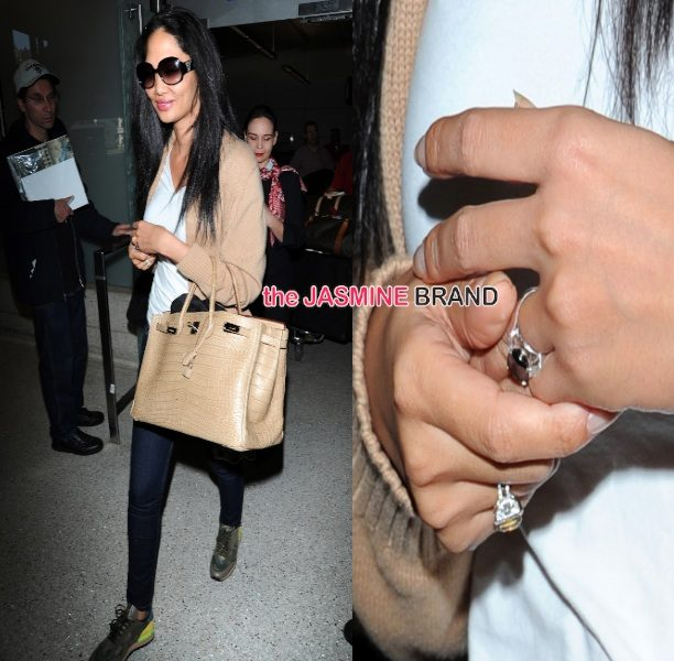 [Please No Photos] Secretly Married Kimora Lee Simmons Tries To Hide Wedding Ring From Photogs