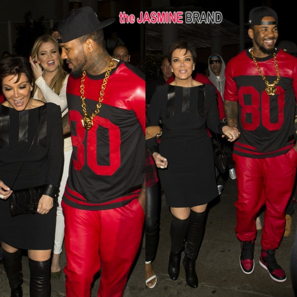 kris jenner-parties with khloe kardashian-and the game tru hollywood-the jasmine brand