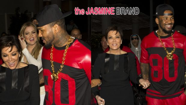 Would You Go Partying With Your Mama? The Game & Khloe Kardashian Go Clubbin' With Kris Jenner