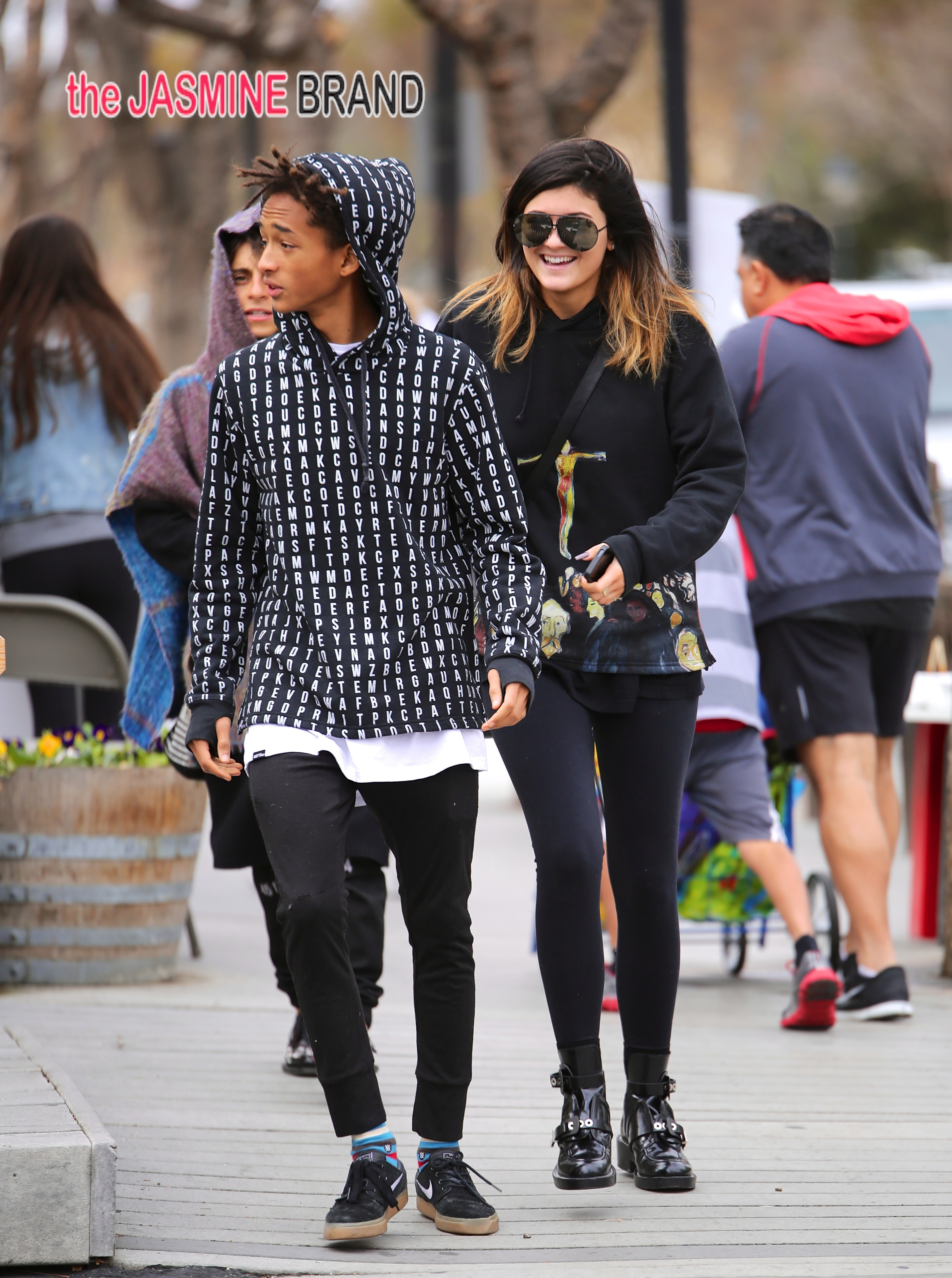 Kylie Jenner and Jaden Smith seen having lunch together