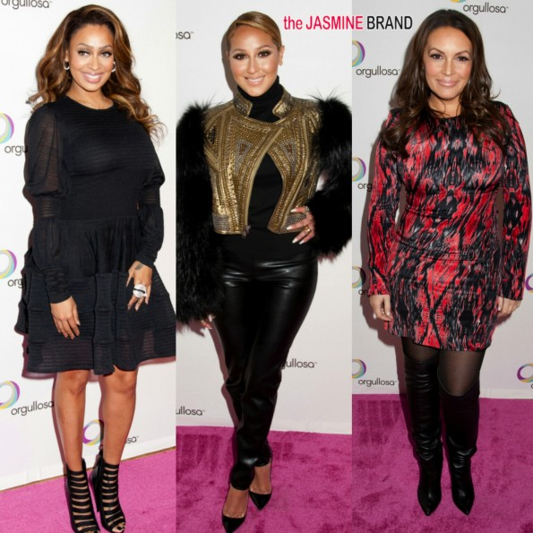lala anthony-adrienne bailon-angie martinez-nueva latina 2014-the jasmine brand