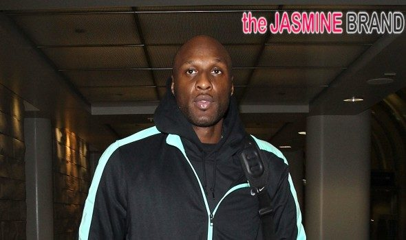 [UPDATE] Lamar Odom Denies Ambushing Khloé Kardshian: It's hard for me to keep my composure!