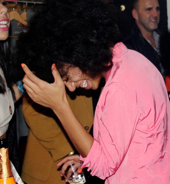 laughter-beyonce-attends solange knowles-saint heron nyfw event 2014-the jasmine brand