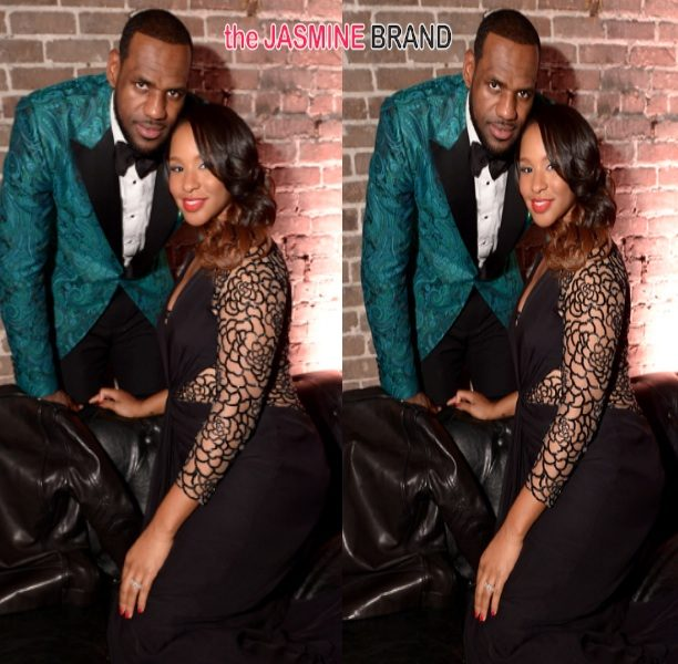 Bad Angle or Baby Bump: Is LeBron James' Wife Savannah Pregnant?