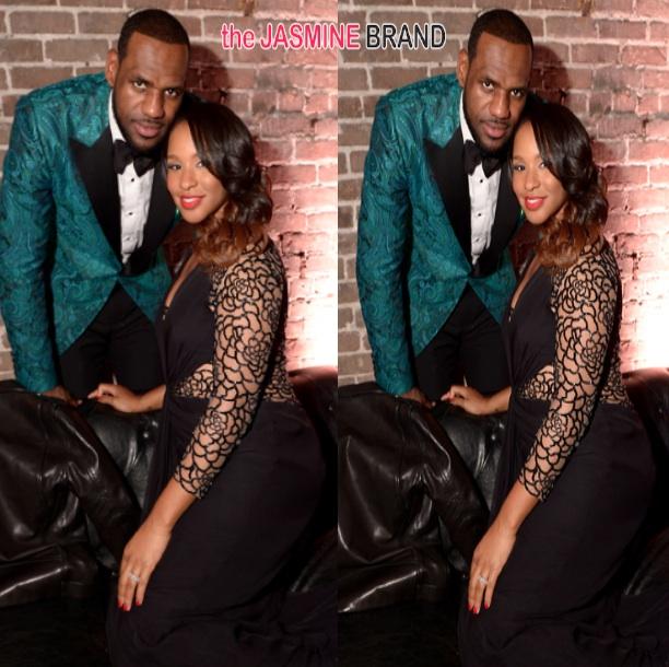486866b0879 Bad Angle or Baby Bump  Is LeBron James  Wife Savannah Pregnant ...