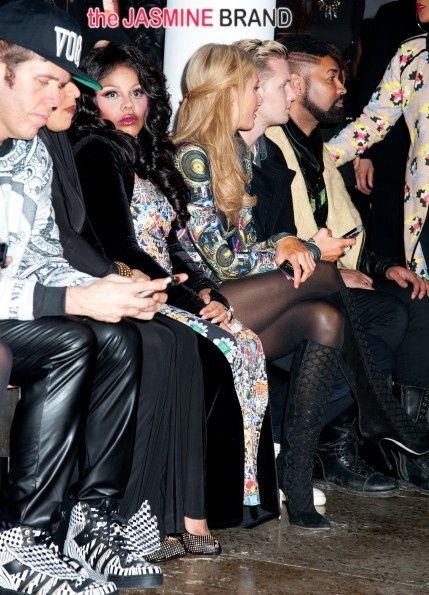 MBFW 2014 -The Blonds Runway and Front Row-NY
