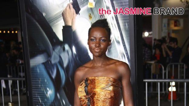 Bronze Beauty: Lupita Nyong'o Glows At 'Non Stop' Movie Premiere