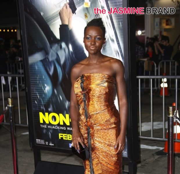Bronze Beauty: Lupita Nyong'o Glows At 'Non Stop' Movie Premiere