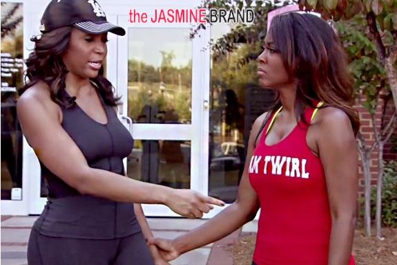 marlo hampton-kenya moore-nene leakes-real housewives of atlanta fight 2014-the jasmine brand