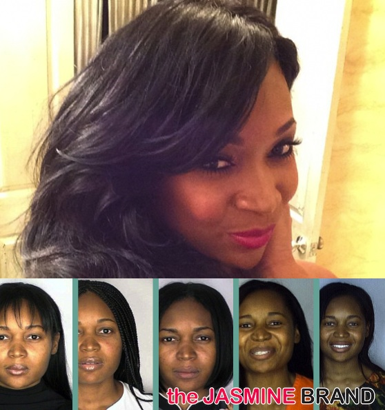 Before They Were Famous! A Look Into Marlo Hampton's Troubled Mugshot Past