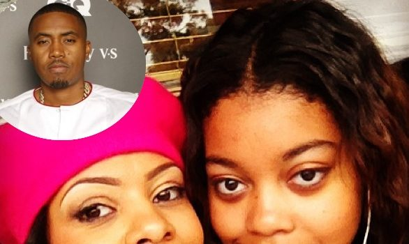 Nas & Baby Mama Carmen Bryan, Beef Over College Tuition & Back Child Support