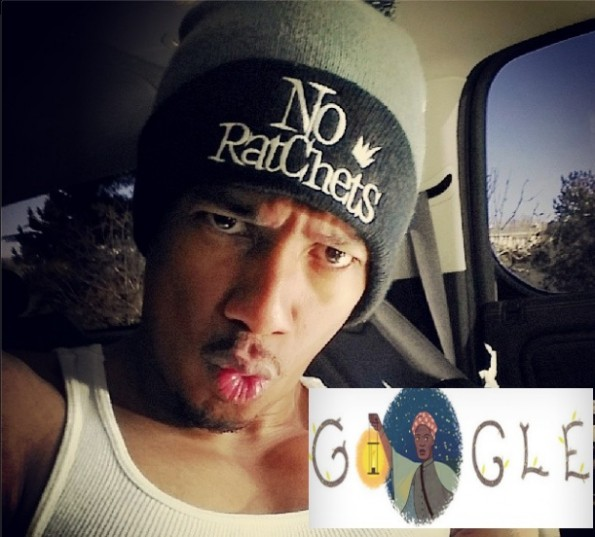 nick cannon-blasts google for black history month image-the jasmine brand