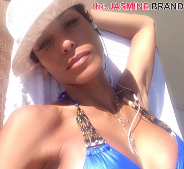 nicole murphy-hollywood exes-film in hawaii 2014-the jasmine brand