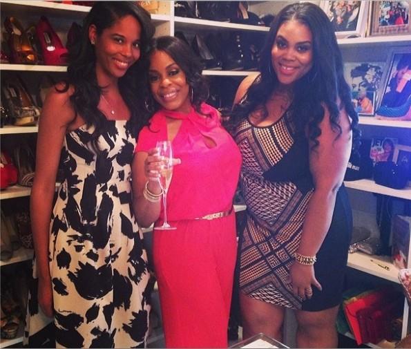 nina parker-niecy nash-gospel birthday brunch 2014-the jasmine brand