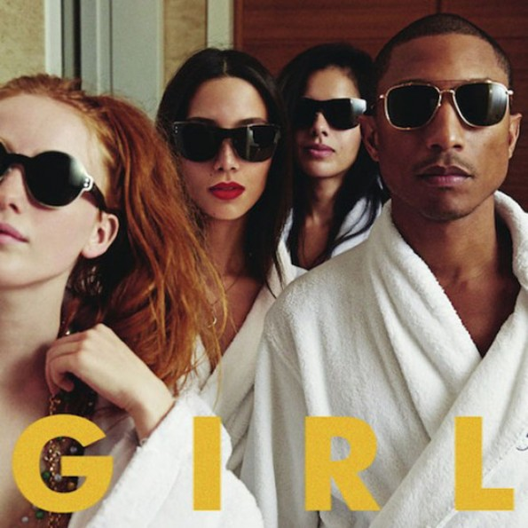 no black women-pharrell album cover girl-the jasmine brand