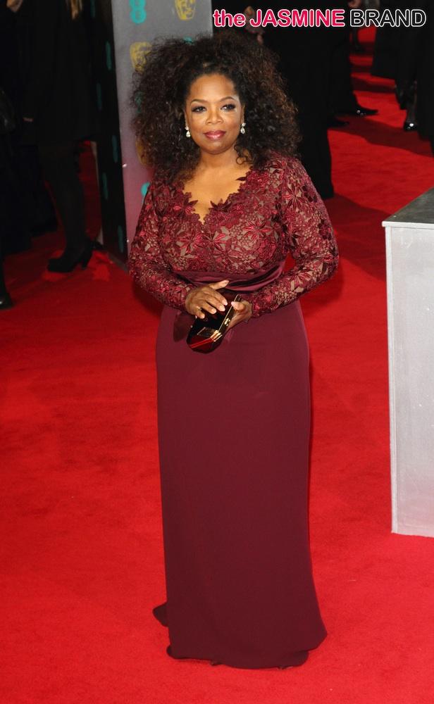 Bafta Red Carpet Looks Oprah Winfrey Lupita Nyong O
