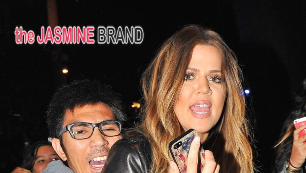 Stranger, Danger! Overly Excited Khloe Kardashian Fan Almost Hurts Reality Star Over #Selfie