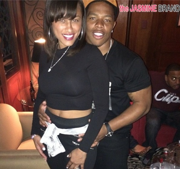 ray rice-domestic violence-fiancee janay palmer 2014-the jasmine brand