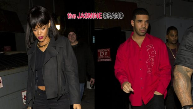 Celebrity Creepin': Rihanna & Drake Party Together in West Hollywood