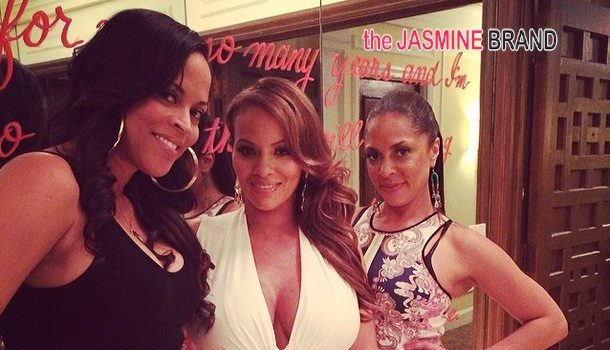 [Photos] Evelyn Lozada's 'Diapers & Diamonds' Baby Shower Bash: Shaunie O'Neal, Tiffney Cambridge & More Celebs Spotted