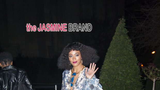 Solange Knowles Opts For Print at H&M Paris Fashion Week Show