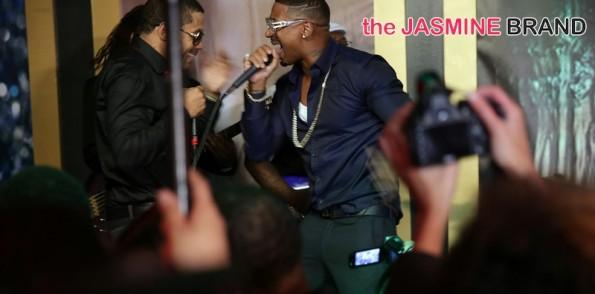 stevie-benzino-stage-love and hip hop atl-stevie j-benzino-restaurant opening 2014-the jasmine brand