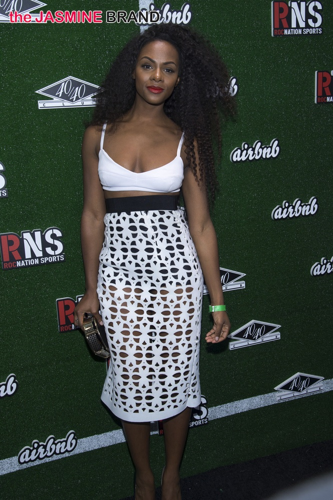 Airbnb and Roc Nation Sports Celebration at 40/40 Club in New York City on February 1, 2014