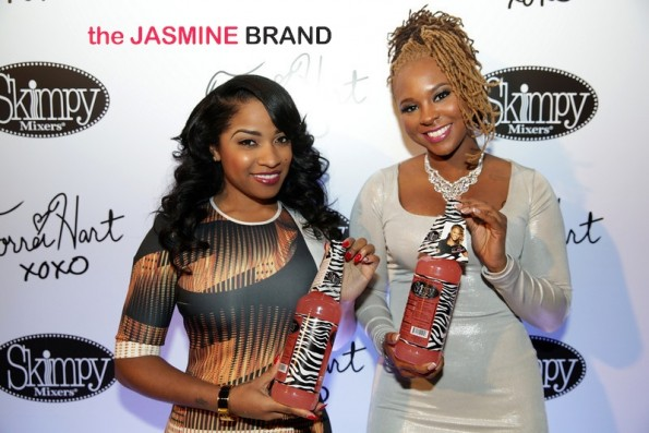 toya wright and torrei hart skimpy mixer-atlanta exes 2014-the jasmine brand