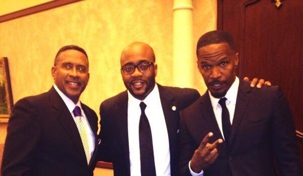 [Photos] Jamie Foxx, Michael Eric Dyson Host Trayvon Martin Remembrance Dinner