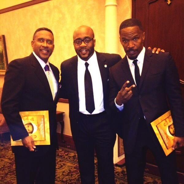 [Photos] Jamie Foxx, Michael Eric Dyson Host Trayvon Martin Remembrance Dinner