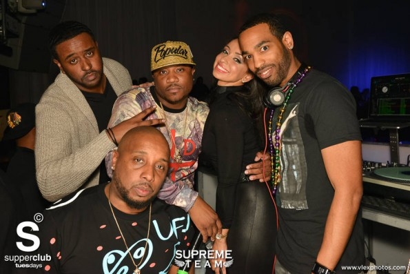 3.04.14- Supperclub - Supreme Team with Mya-the jasmine brand