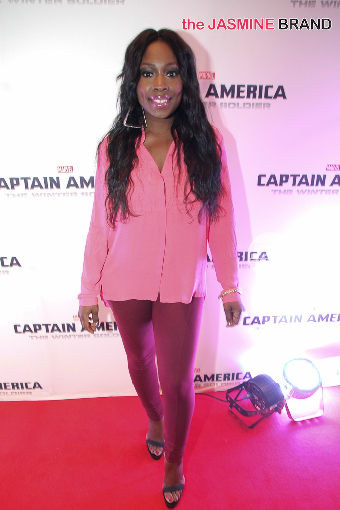 Captin America 2 Atlanta Red Carpet