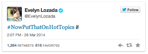 Evelyn Lozada Tweets