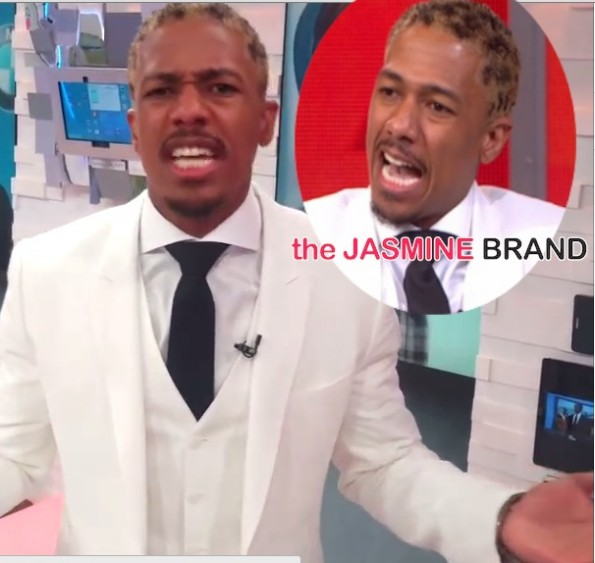 GMA-nick cannon-new cheetah print hair-the jasmine brand