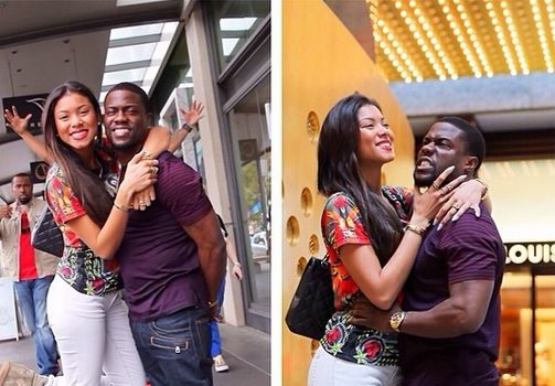 Crazy In Love: Kevin Hart and Girlfriend Eniko Jet Set to Australia