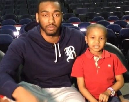 Celebrity Dopeness: John Wall, Nicki Minaj Grant 5 Year Old Cancer Patients Wish